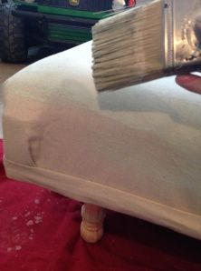 The BEST way on Pinterest on how to paint fabric!