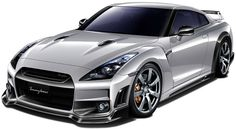 Feeding my dragon cravings today- dragon concept cars | Nissan GT-R R35 takes the concept of this dragon