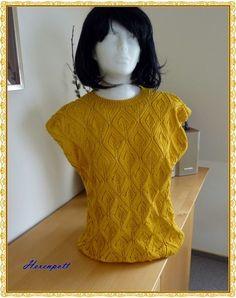 Pulli Sunshine Gr.40 Baumwolle von Hexenpott auf DaWanda.com