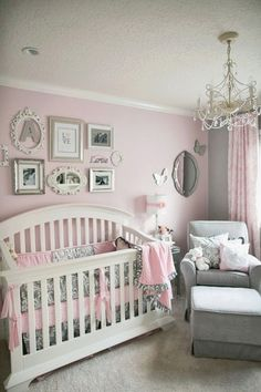 Pink and Grey Gray Owl Tree Wall Mural Decal for baby girl nursery or children's room decor. Description from pinterest.com. I searched for this on bing.com/images