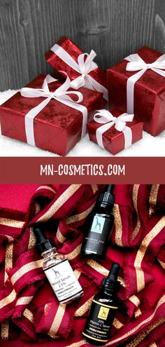 Amazing Christmas Gifts from Mother Nature Cosmetics Perfect Christmas Gifts, Argan Oil, Vitamin C, Mother Nature, Serum, Natural Beauty, Skincare, Gift Wrapping, Organic