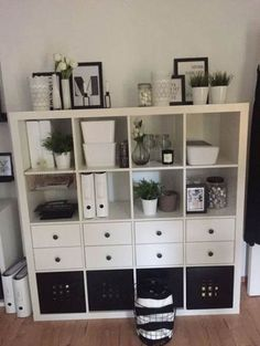 Kallax black and white - . - - Room ideas Ikea Kallax black and white - . - - Room ideas - Ikea Kallax black and white - . Bedroom Storage Ideas For Clothes, Bedroom Storage For Small Rooms, Home Office Design, Home Office Decor, Home Decor, Home Office Storage, Cubicle Storage, White Bedroom Decor, Diy Bedroom