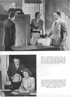 Perry Mason Radio Show.  From Radio Romances, November 1945.  From the Jim Davidson Collection.