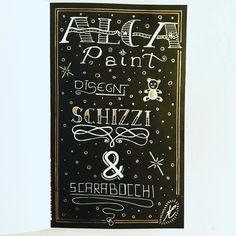 #lettering #scritte #alcapaint #black #decorazioni