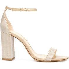 Alexandre Birman 'New Alysha' sandals (€280) ❤ liked on Polyvore featuring shoes, sandals, heels, nude, ankle tie sandals, nude heel sandals, leather sandals, high heeled footwear and nude high heel shoes