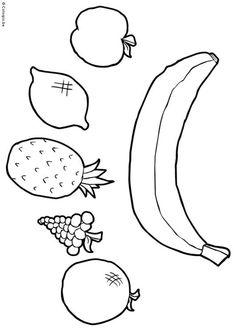 mobiel - fruit x knutselen 14424. Knutselen voor kinderen. De mooiste Knutselwerkjes voor op school en in het onderwijs. Dot Painting, Painting For Kids, Fun Worksheets For Kids, Free Fruit, Preschool Crafts, Health And Nutrition, Healthy Habits, Diy And Crafts, Drawings