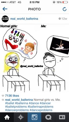 Yep. This is pretty accurate. Real world ballerina