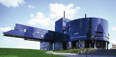 The Guthrie Theater is an example of a building that was designed to fit into its context.  Every window frames a specific view of the city!