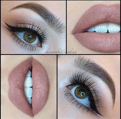 Maquillaje para ojos / sombra para ojos / sociales / fiestas / noche / día / natural / difuminado / ideas para maquillarte / fácil / ojos pequeños / ojos grandes / paso a paso / ojos cafés / verde / dorado / negro / Rosa / cejas perfectas FOTO VÍA INSTAGRAM