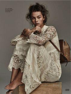 Editorial   Maxi Dress   Lace Fashion