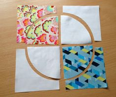 GREAT TUTORIAL ON DRUNKARDS PATH AND ALL ITS VARIATIONS..............PC............Mack and Mabel: Block Buster Sunday #1 Curved Piecing Tutorial, Drunkards Path and Variations