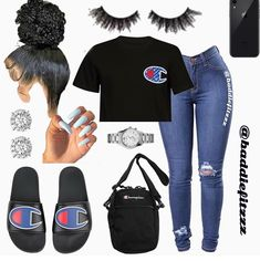Stylish Outfits for Teens Swag Outfits For Girls, Cute Lazy Outfits, Cute Swag Outfits, Teenage Girl Outfits, Teen Fashion Outfits, Dope Outfits, Trendy Outfits, School Outfits, Baddie Outfits Casual