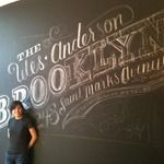 Years ago I did some hand lettered signs for a small shop in my hometown. I was into the work, but the client nearly burned me. It's been really refreshing to see Dana's work in more and more places... from retails space to national publications.  Dana Tanamachi | Custom Chalk Lettering - Chalk