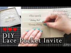 How to make your own modern pocket folio wedding invitations Wedding Invitation Inserts, Pocket Invitation, Diy Invitations, Wedding Cards, Diy Wedding, Wedding Ideas, Make Your Own, Make It Yourself, Wedding Planning