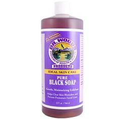 Dr. Woods, Pure Black Soap, 32 fl oz (944 ml)