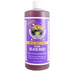 Dr. Woods, Pure Black Soap, 32 fl oz (944 ml)