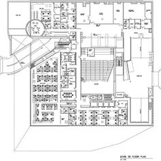 Rem Koolhaas, Lebbeus Woods, Norman Foster, Plano Hotel, Library Floor Plan, Seattle Central Library, Educational Programs, Interiores Design, Floor Plans