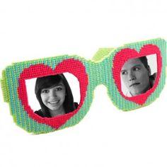 heart sunglasses plastic canvas pattern