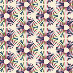 Colorful Wheels by stoflab, click to purchase fabric