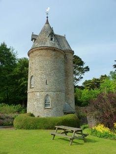 Trelissick Water Tower, Trelissick Gardens, Cornwall, UK