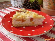 Tvarohový dort z drobenky