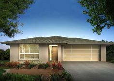 Ausbuild Home Designs: Maui Prime Facade. Visit www.localbuilders.com.au/builders_queensland.htm to find your ideal home design in Queensland