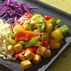 2015.07.08 Sweet & Sour Tofu