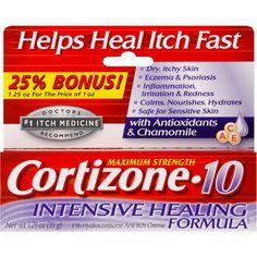 2 Cortizone 10 Maximum Strength Intensive Healing Formula 1
