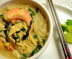 Thai Coconut Noodle Soup -  use shiritaki noodles instead
