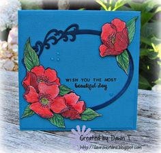 https://flic.kr/p/QRn9kn   Beautiful Day   First card made in 2017 using Adore You set from Altenew.  Coloured with Prismacolor Pencils and fussy cut.  Sentiment from Beautiful Day stamp set from Altenew.  Frame was cut with a die from a friend (Oval Frame by LeCrea Designs) and finished with some clear Nuvo drops