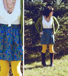 Love this. Also love that the skirt is diy ♥
