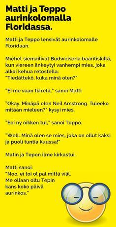 Vitsit: Matti ja Teppo aurinkolomalla Floridassa - Kohokohta.com