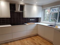 Recent kitchen refurbishment by Apli Construction Refurbishment, Kitchen Styling, Kitchens, Kitchen Cabinets, Construction, Building, Home Decor, Kitchen, Restoration