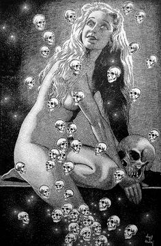Perhaps the first derp illustration ever done.. Virgil Finlay