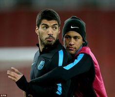 The Brazilian is part of Barcelona's glorified attacking triumvirate, along with Luis Suarez and Lionel Messi