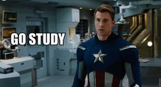 You Should Be Studying <--- I KNOW! *wail*