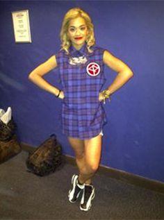 "British Vogue's ""Today I'm Wearing"" - Aug 2, 2012 #RitaOra #Vogue #Style"