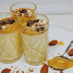 image Fika, Tart, Panna Cotta, Pudding, Victoria, Sweets, Ethnic Recipes, Image, Advent