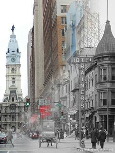 Philadelphia old and new