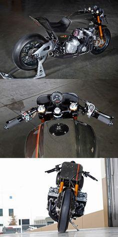 Honda CBX1000 Cafe Racer:  http://bikebrewers.com/