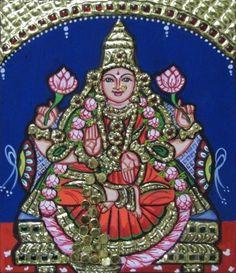 """Dhana Lakshmi - 7x6"""" each - sumarts.biz/"""