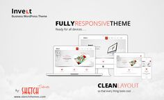 A Clean, Multipurpose, #Responsive Business #WordPress #Theme by SketchThemes.
