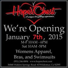 New Store Opened January 7th 2015!