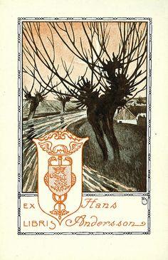 [Ex libris Hans Andersson] by Stifts- och landsbiblioteket i Skara, via Flickr