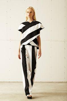 Elegant casual: 10 Crosby Derek Lam Spring 2014 RTW Collection…