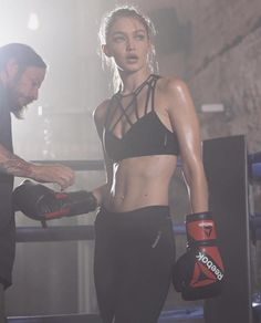The Reebok #PerfectNever Campaign featuring Gigi Hadid is one of fashion's campaigns empowering young women.