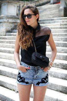 #fashion #fashionista @Irene Colzi pantaloncini | fashion blogger | fashion | moda | outfit | look | irene colzi | irene closet | shorts jeans | short levis | shorts 4