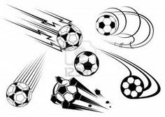 Football and soccer symbols, mascots and emblems for sports design, such a logo. Jpeg version also available in gallery by Seamartini Graphi. Tattoo Futbol, Soccer Tattoos, Art Football, Football Tattoo, Symbol Tattoos, Body Art Tattoos, Tatoos, Planetary Symbols, Doodles