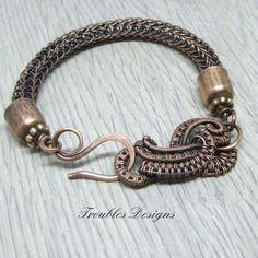 New viking knit bracelet :)