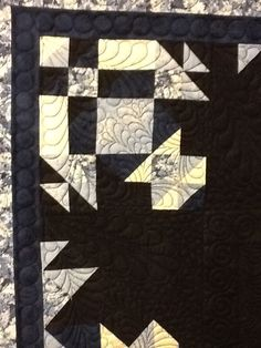Now flake quilt. Quilting by Sheri Zalar 309-698-0398.